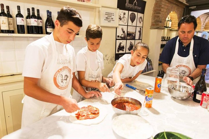 Cooking Class; Pizza and Gelato