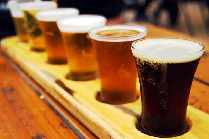 Sample a variety of beers
