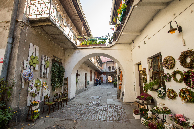 Stroll through the popular streets