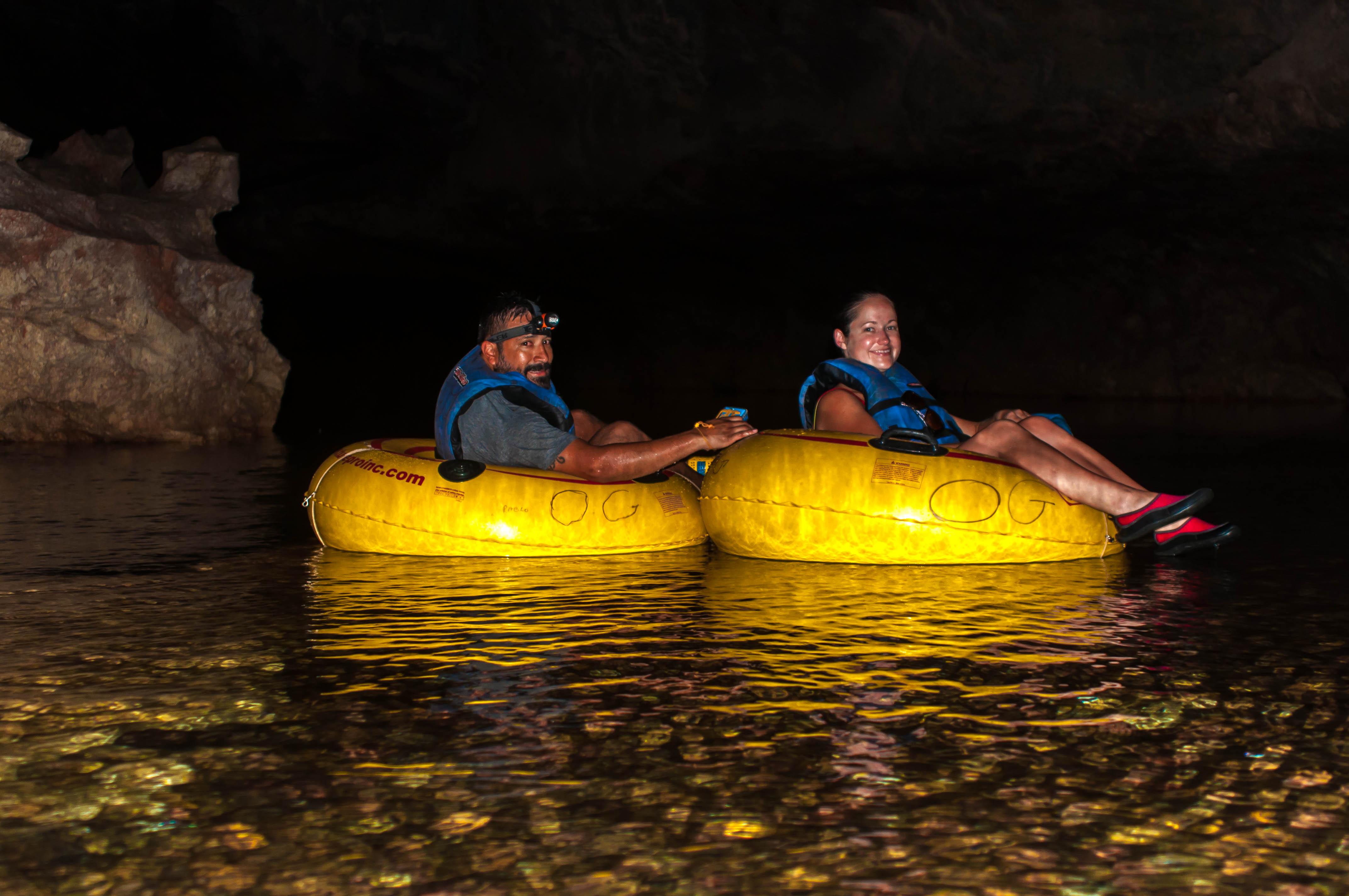 Go cave tubing