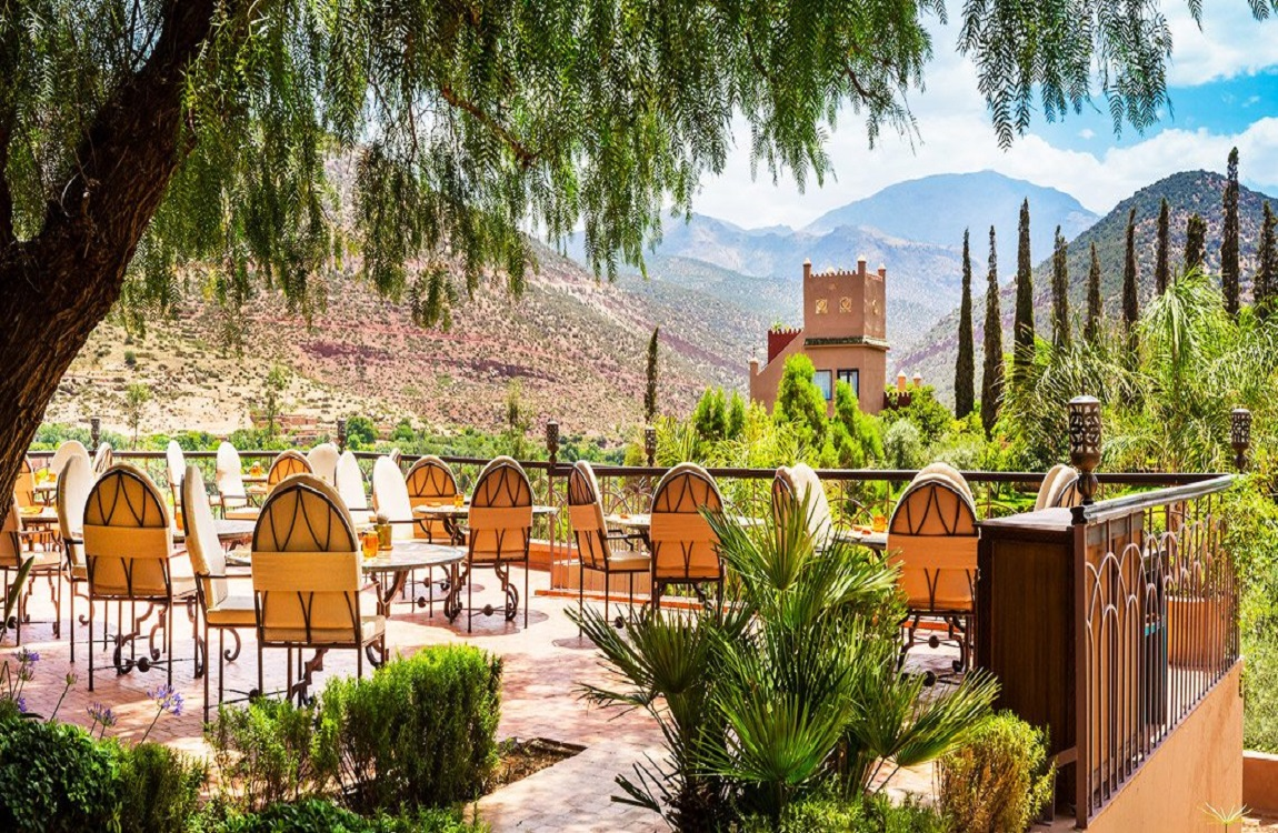 Kasbah Tamadot : Lunch At The Bransons