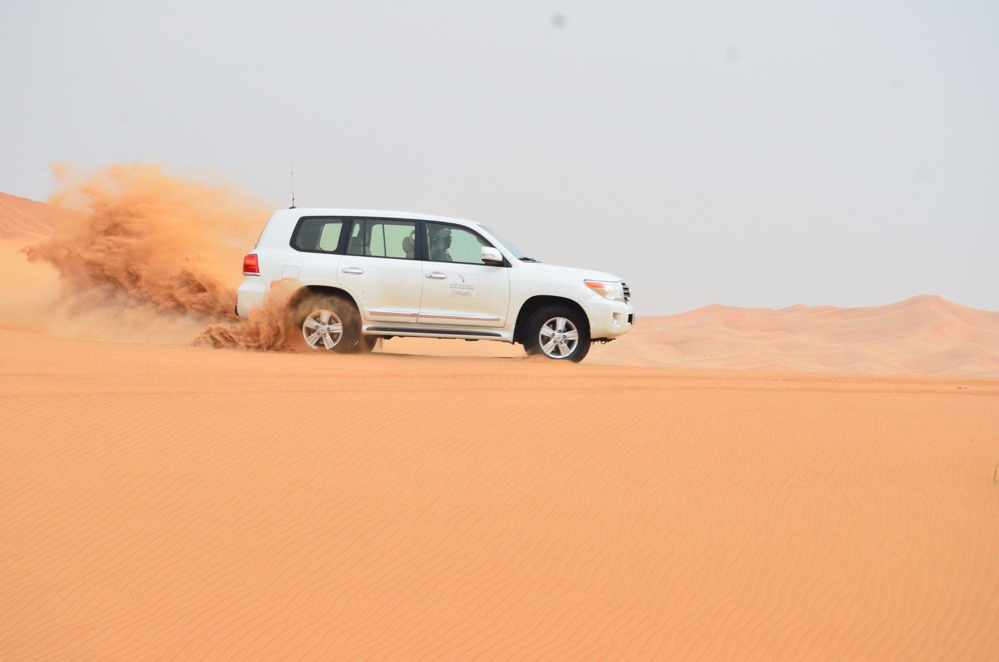 Enjoy a ride in the desert