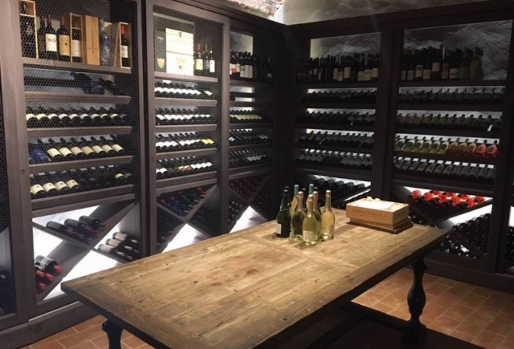 Wine enthusiast's dinner at Diadema Wine Cellar