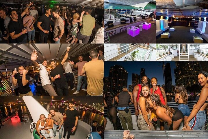 Boat Party in Miami with Free Open Bar and Live DJ