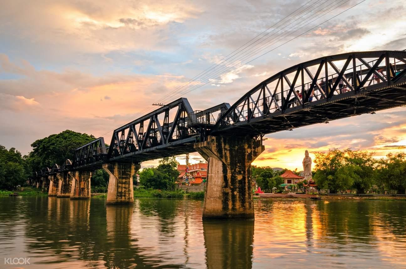 Walk on the Kwai Bridge.