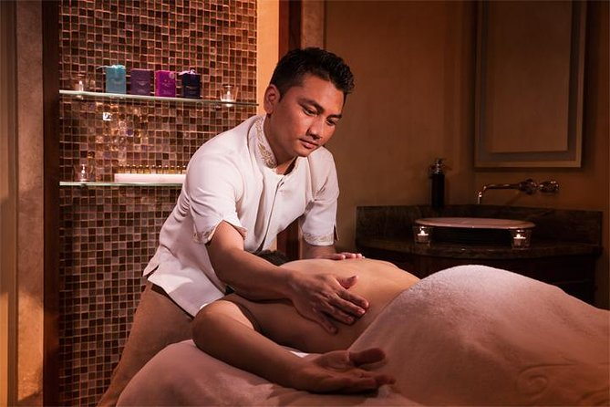 Feel relaxed after a soothing massage