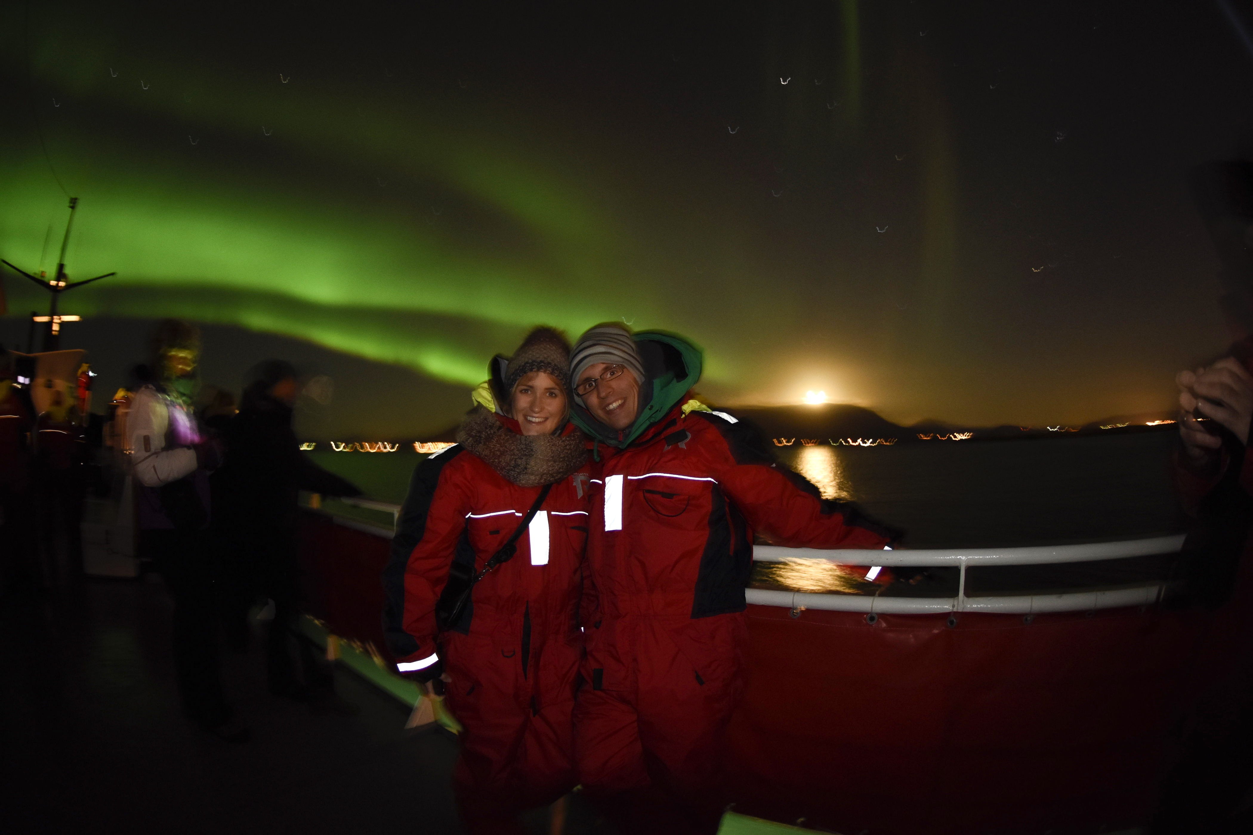 Go for Aurora Hunting by Cruise