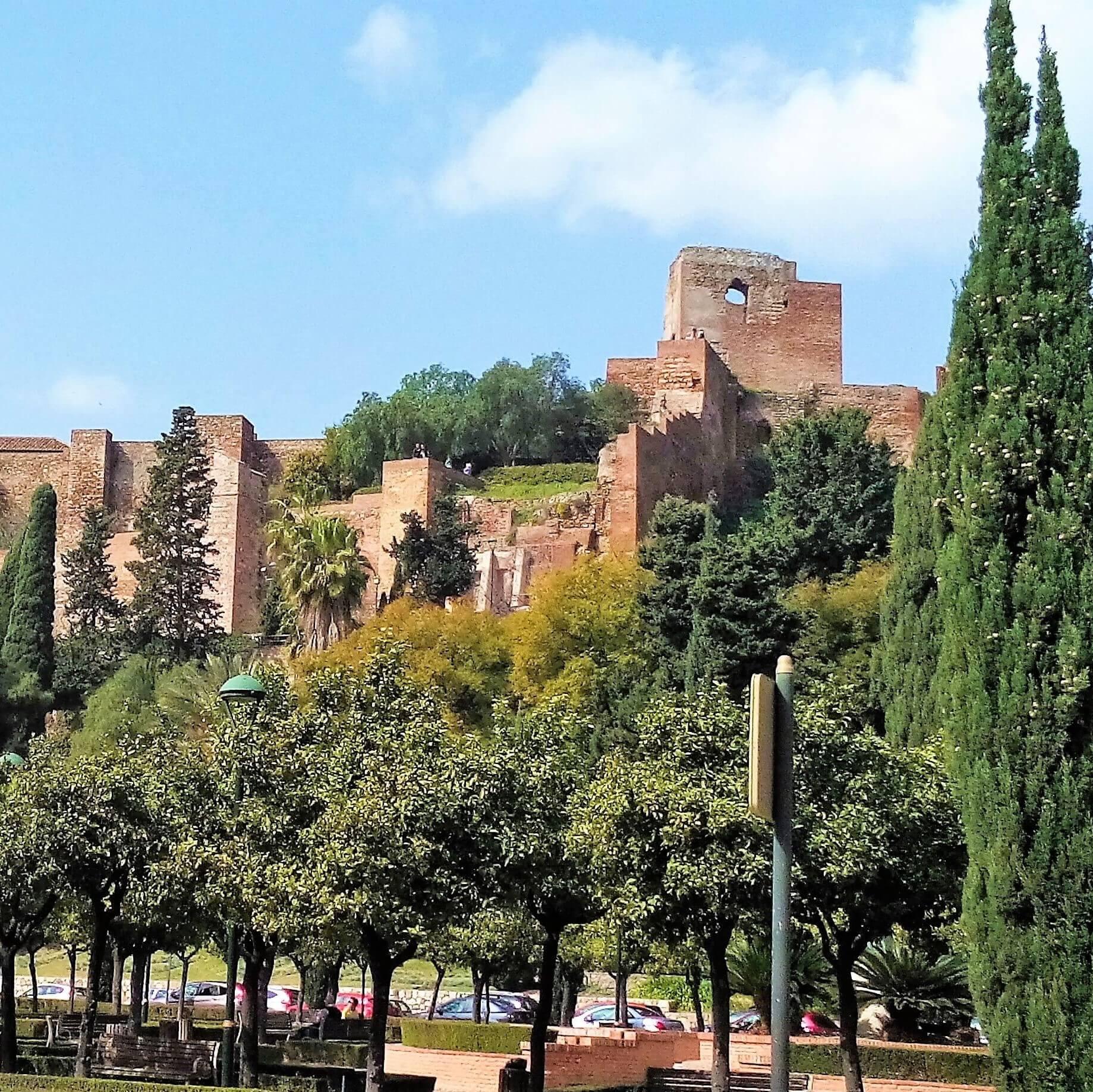 Málaga's ancient ruins