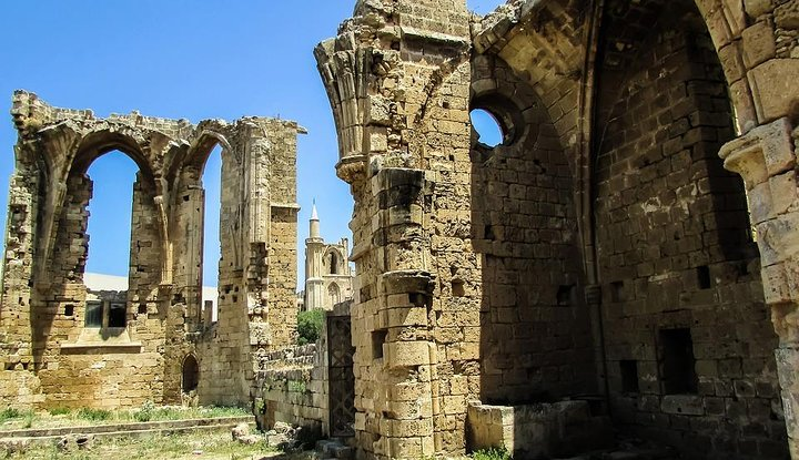 Go through the ruins