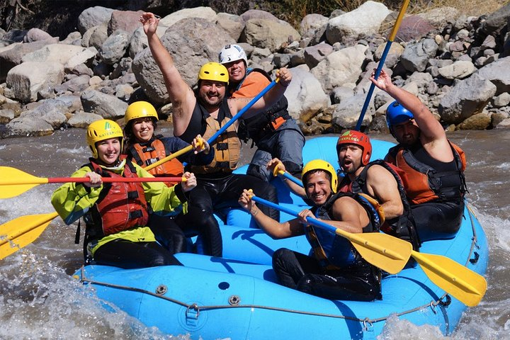 Full Day Rafting and Wine From Santiago