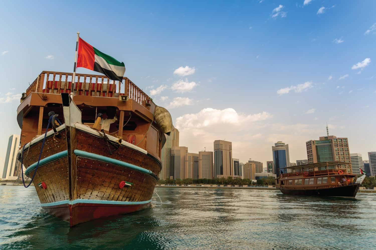 Dhow Cruise Dinner in Abu Dhabi