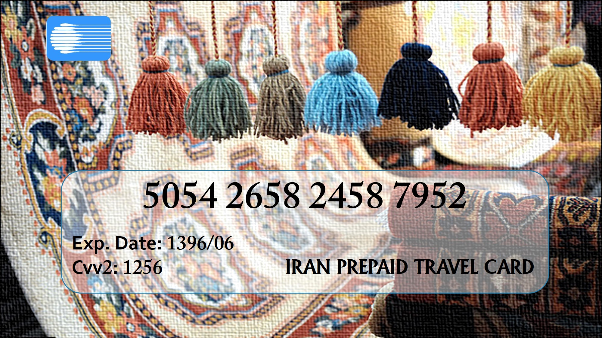 Conveniently shop and travel around Iran with a prepaid card.