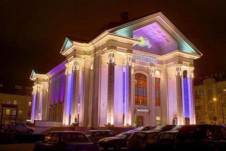 Vilnius in the night