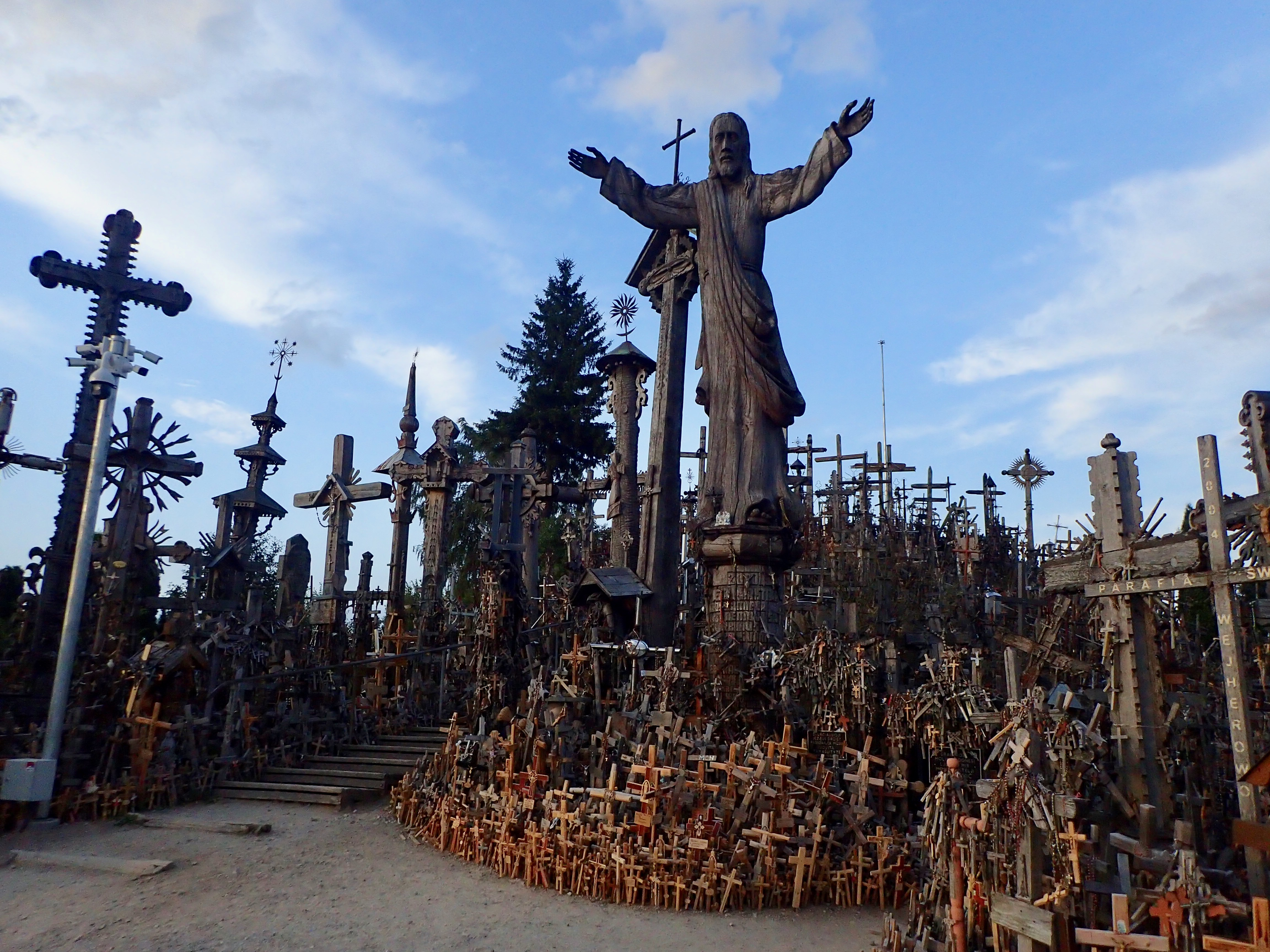 See the amazing Hill of Crosses