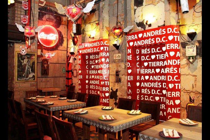Bogota Night Gastronomy Tour with Andres Carne de Res DC