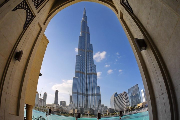 See the iconic Burj Khalifa