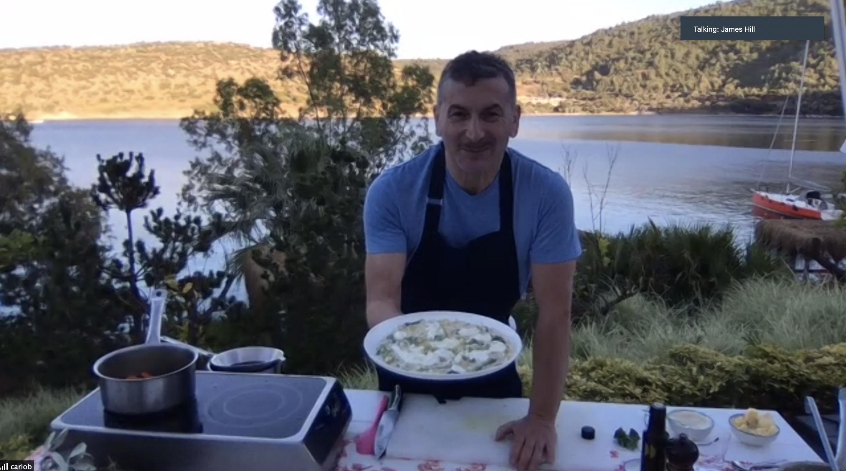 Risotto with Green Asparagus, Lemon Zest and Burrata