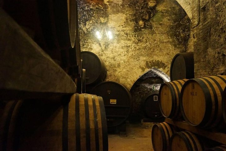 Montepulciano guided walking tour including wine tasting