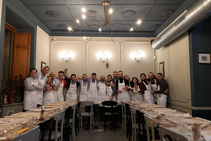 Sunset cooking Class in the Jewish Ghetto: pasta, gnocchi, fried-food, biscotti