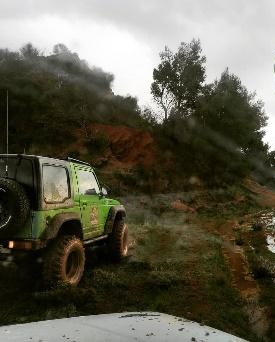 Off road experience on the Wine Route (Athens)