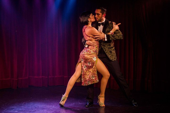 Rojo Tango Dinner and Tango Show with Private Transfers