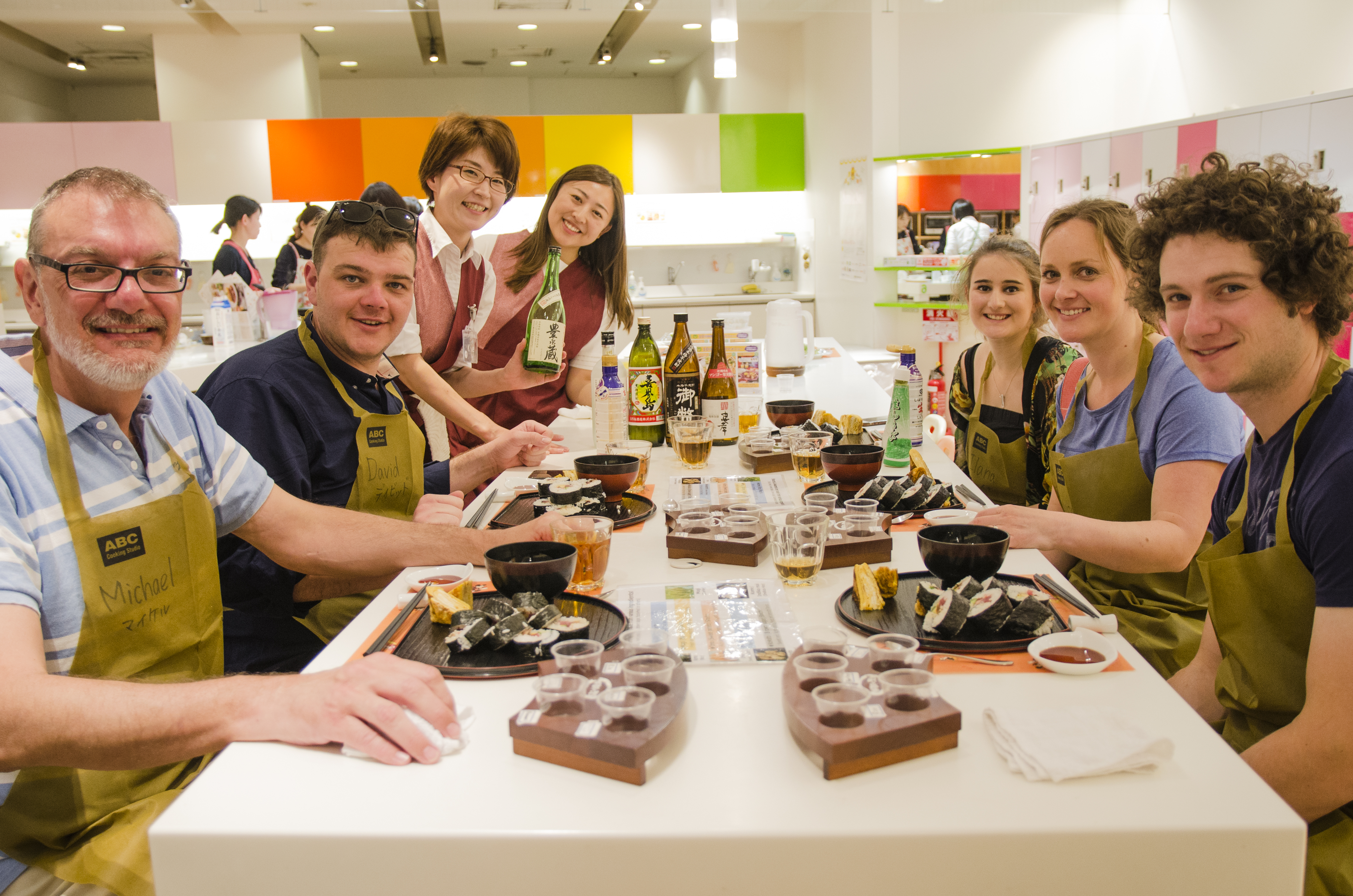 Learn to cook authentic Japanese dishes.
