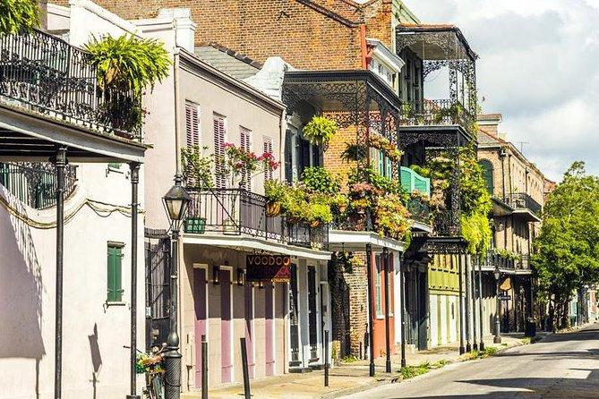 Walk across the colourful French Quarter