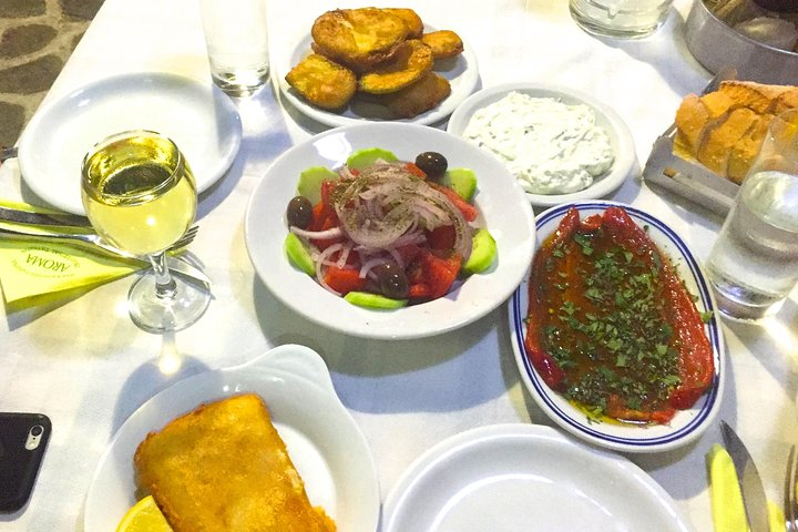 Authentic, guided Greek Food Tasting Experience in Historical centre of Athens