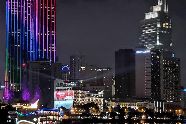 Magical Night Views: Bitexco Tower & Dinner Cruise