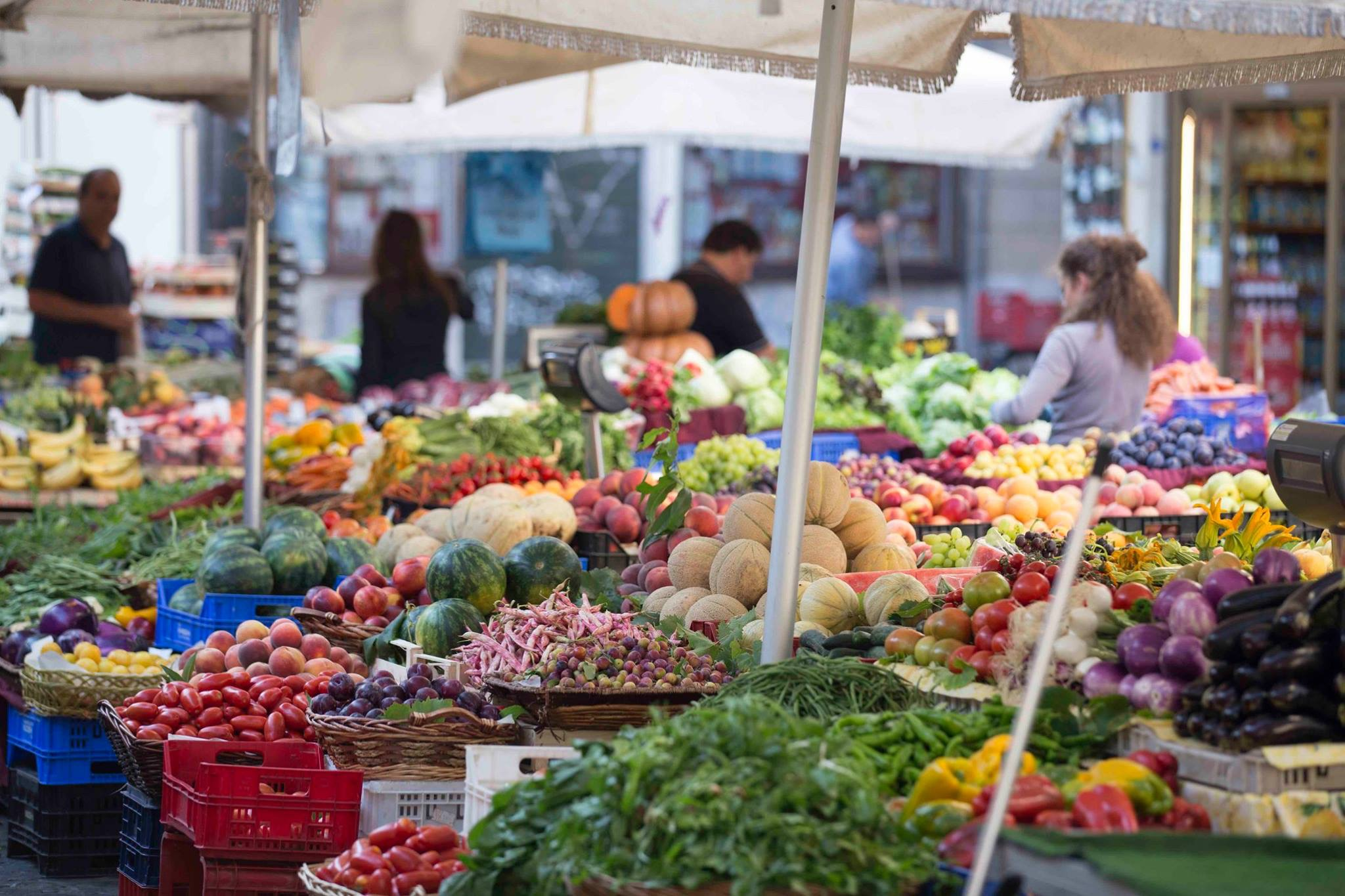 Rome: Local market visit & cooking experience