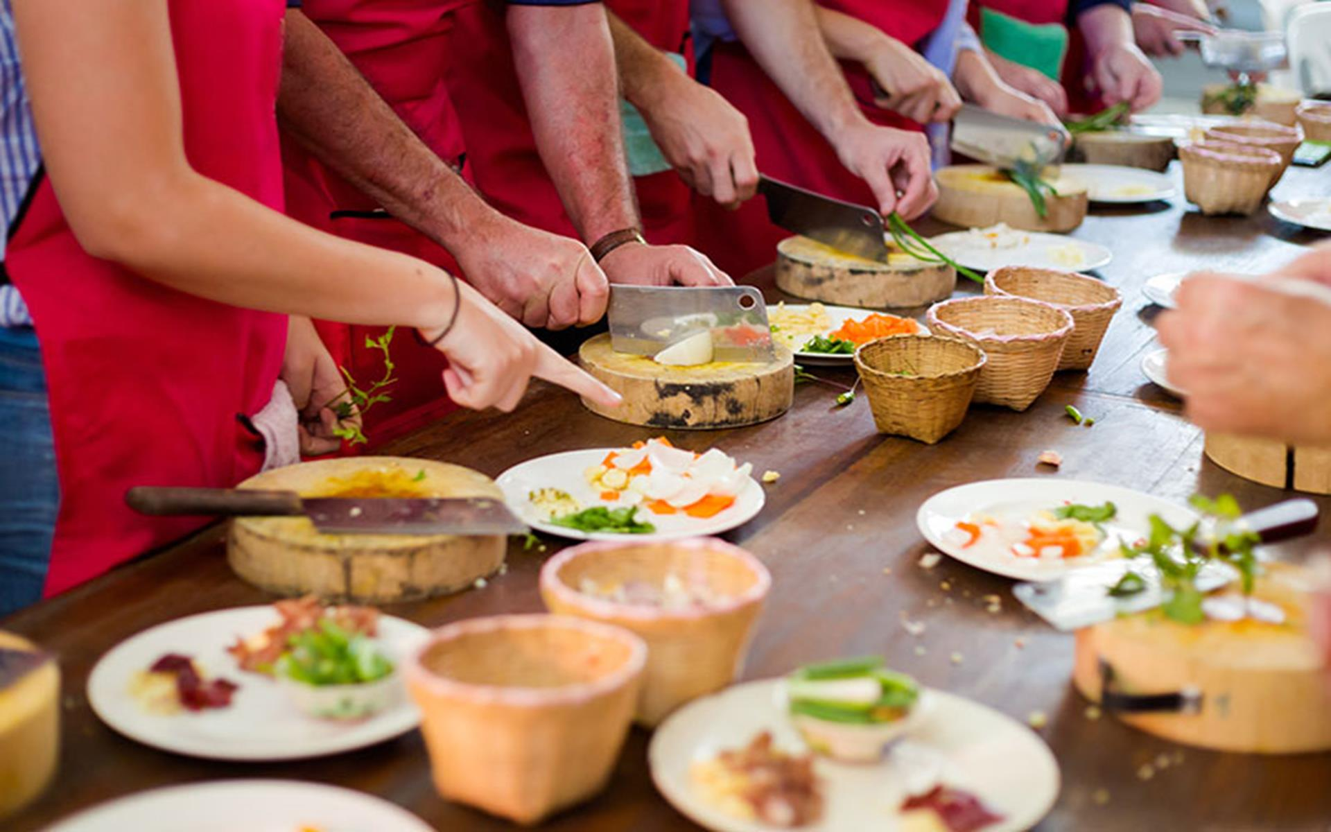 Visiting Vothonas Village and Cooking Class Tour