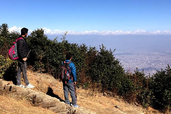 Hike to the top of the Chandragiri Hills.