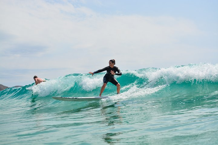 Enjoy surfing on the famous beach