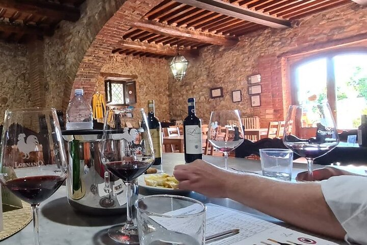 Chianti Afternoon Tour with Dinner at the Sunset