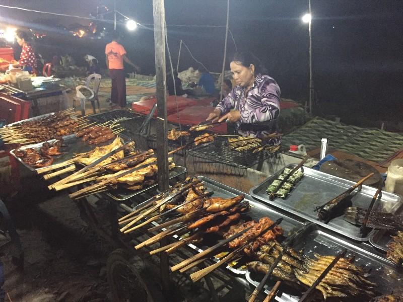 Vespa after Dark Foodie Tour - Siem Reap