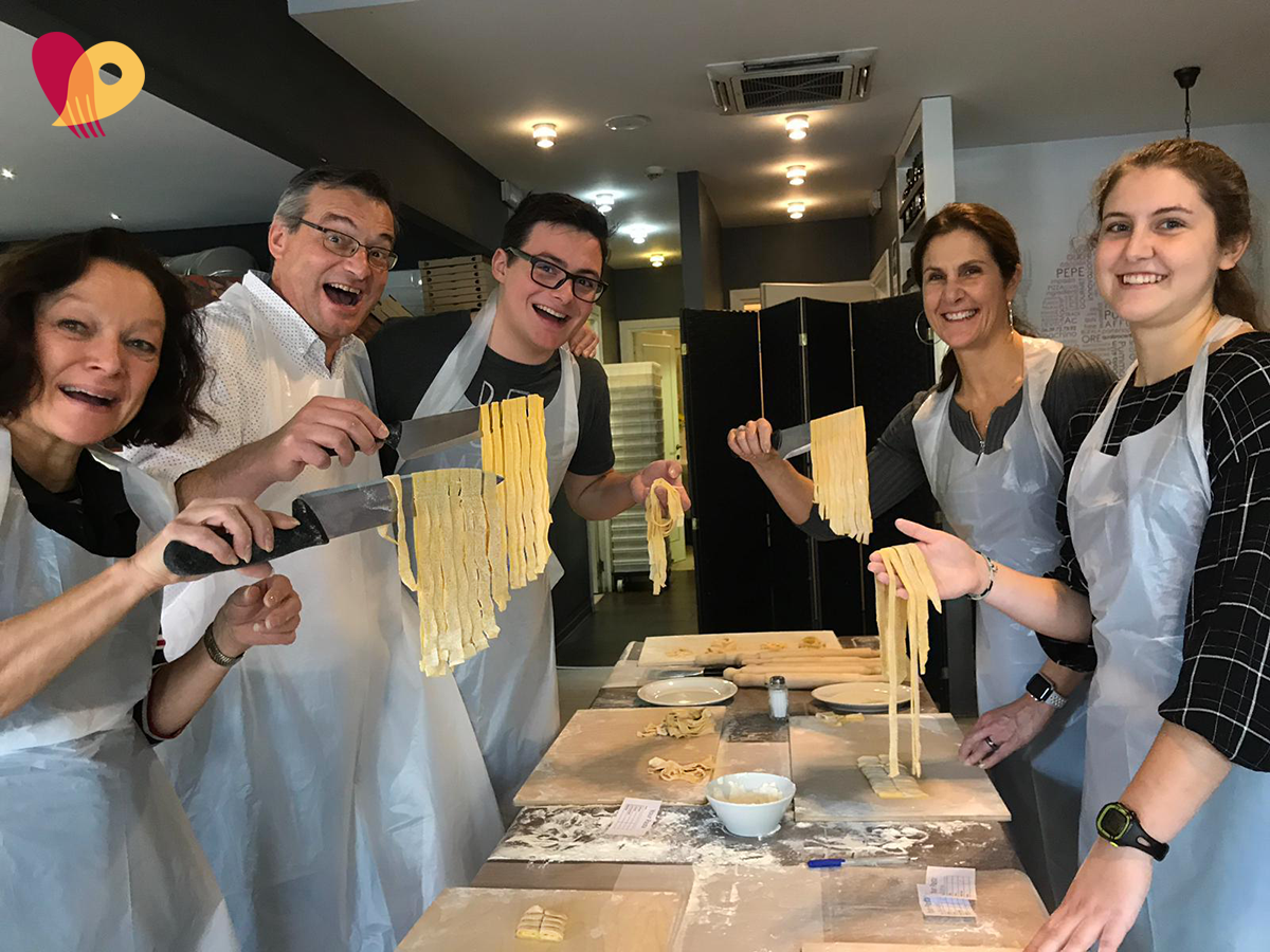 1 Hour Pasta Class in Rome