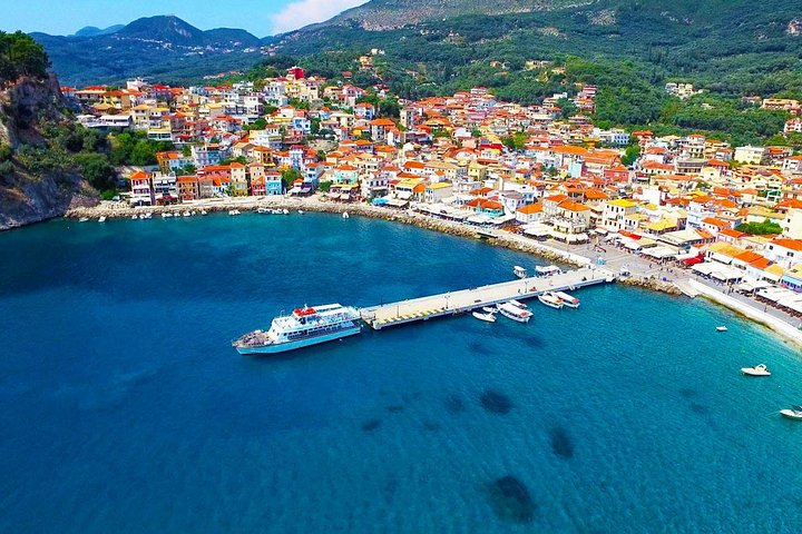 Parga and Sivota Islands Cruise with BBQ from Corfu