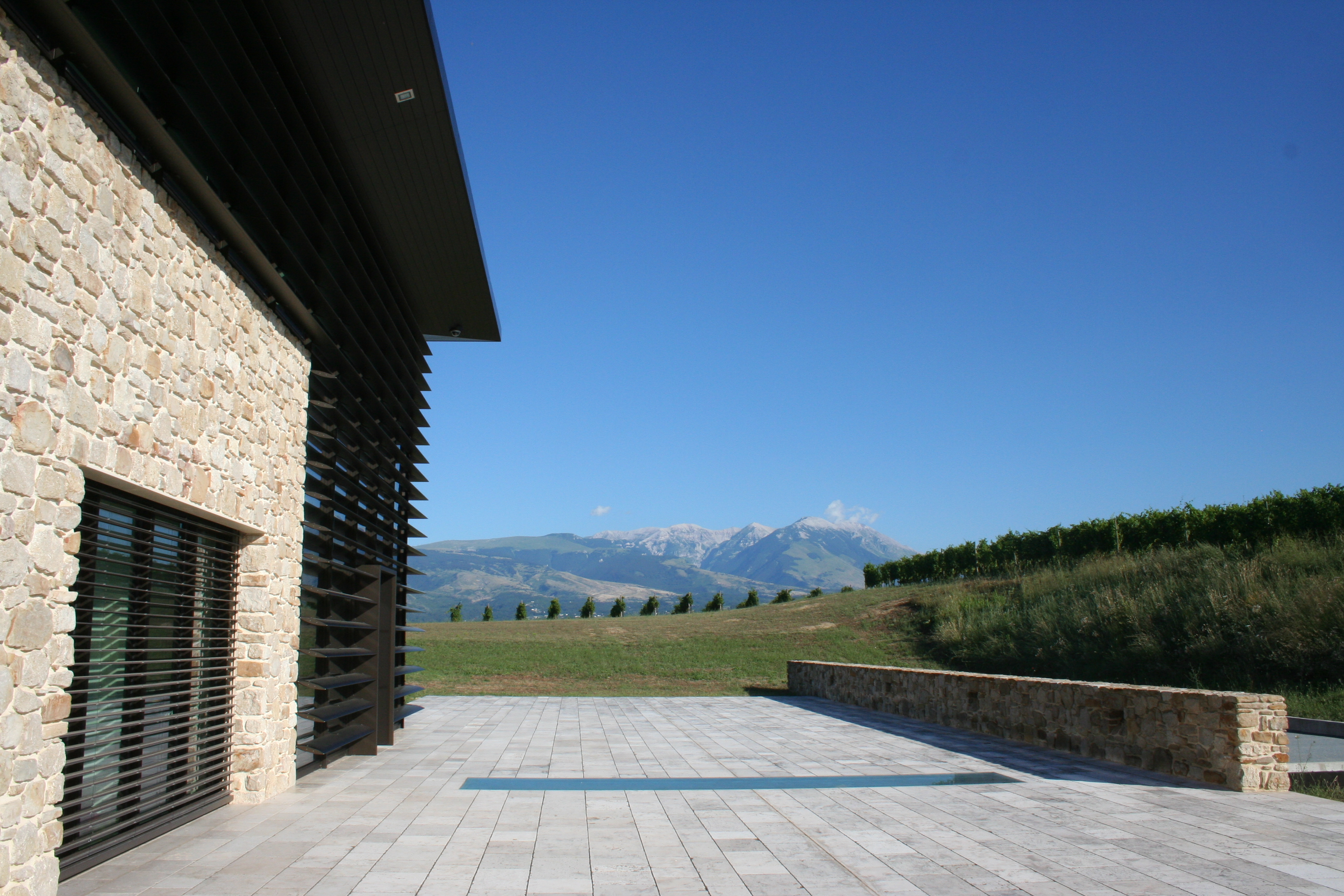 Visit to the Podere Castorani winery and wine and food tasting