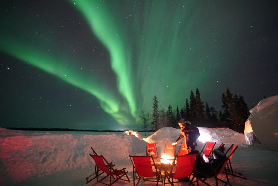 Polarman's camp