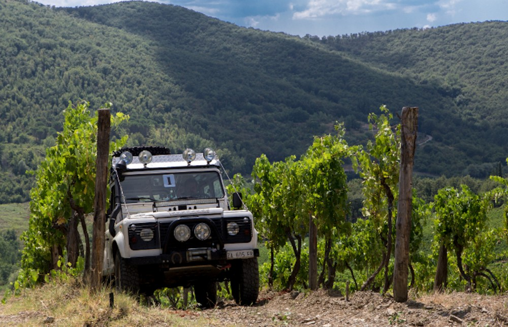 Off Road wine adventure at Monterinaldi
