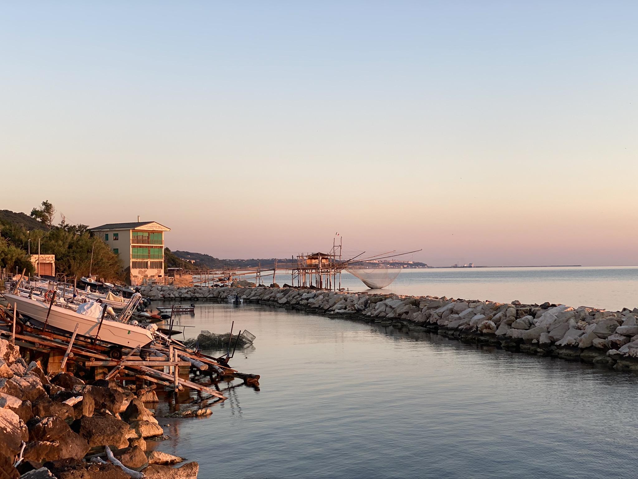 Fishing Tourism Experience On The Trabocchi Coast