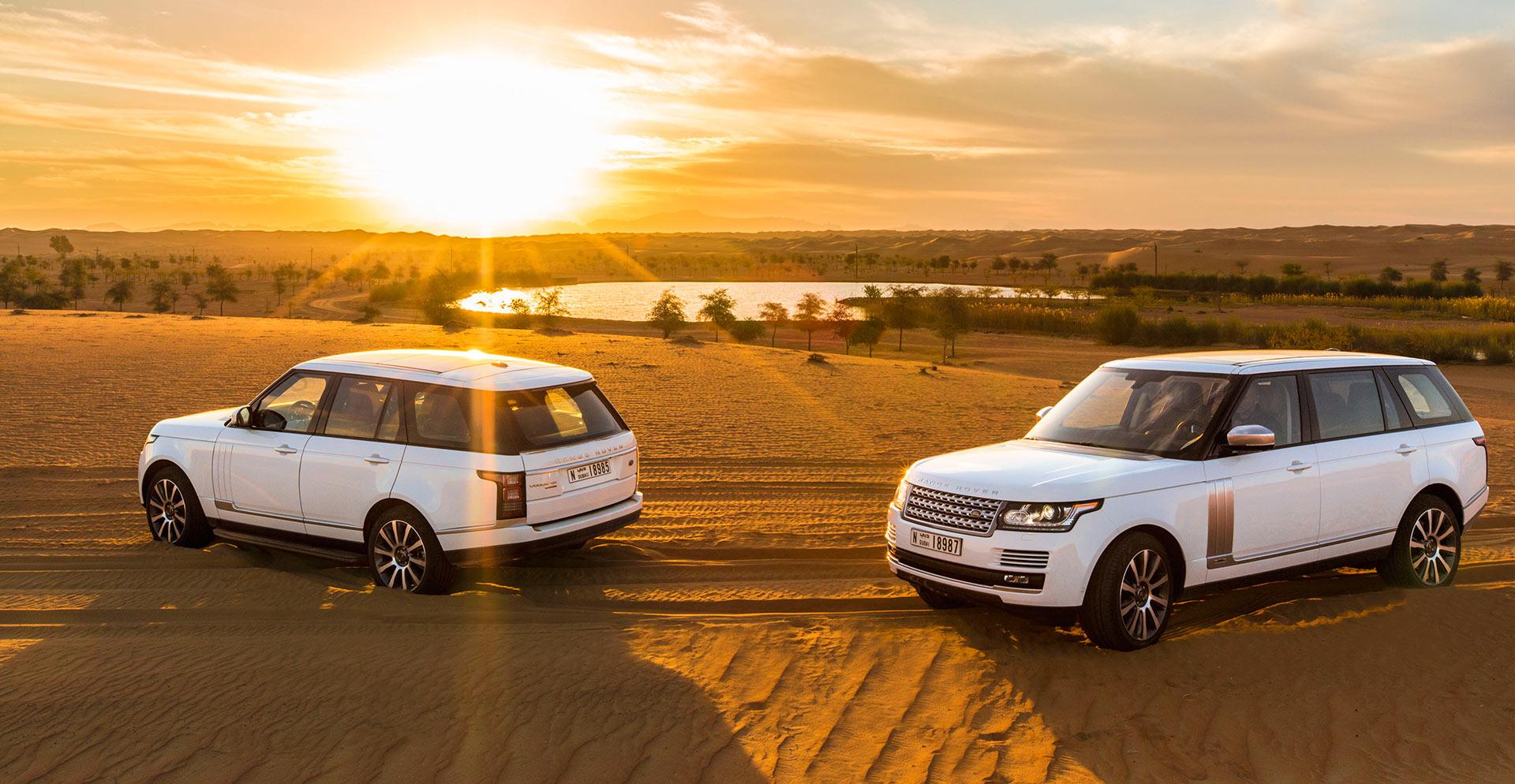 Enjoy a desert safari in the desert