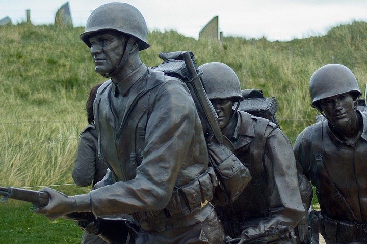 NORMANDY: Landing beaches (Best offer) - Private Day-trip from PARIS