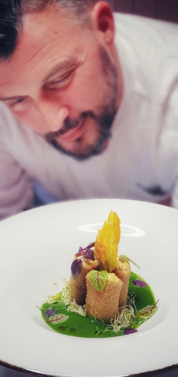 Paccheri Gorgonzola & Spinach