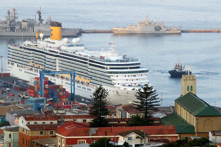 Small Group Pre-Post Cruise Viña del Mar Valparaiso and Casablanca Winery tour