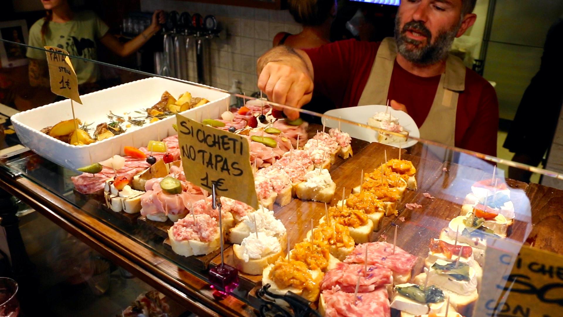 Authentic Venice Evening Food Tour in Cannaregio