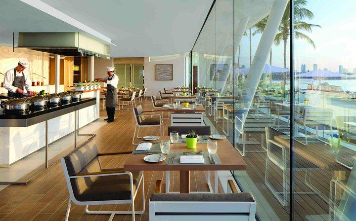 Lunch in Bab Al Yam with Scape Lounge - Burj Al Arab