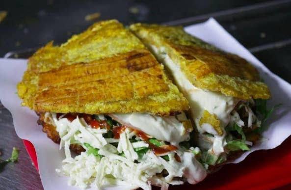 Street food: Patacón