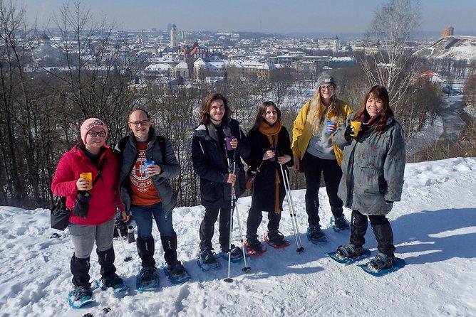 Vilnius Panoramic Snowshoe Hike