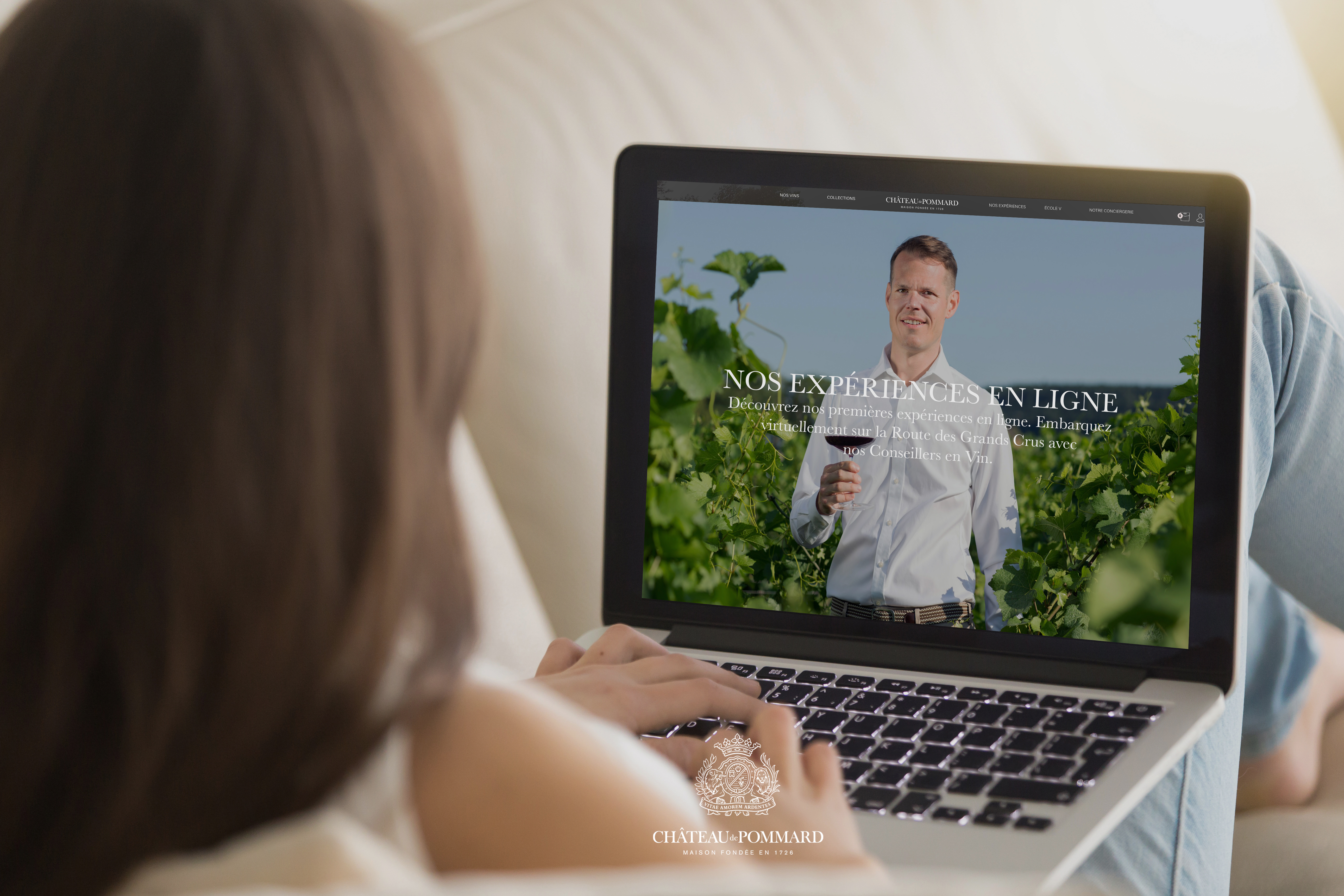 Online Experience with Château de Pommard